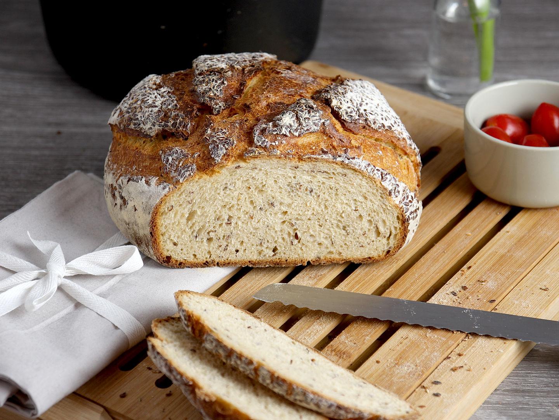 Joghurtbrot - ein einfaches und saftiges Brot mit Joghurt